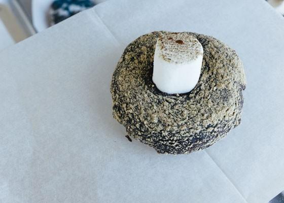 The Campfire doughnut at Strange Donuts. | Bryan Sutter