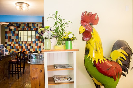 Inside Kitchen House Coffee. Photos by Mabel Suen
