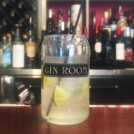 Gin and Tonic at the Gin Room at Café Natasha's | Patrick J. Hurley