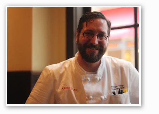 Chef Trent Thrun. | Nancy Stiles