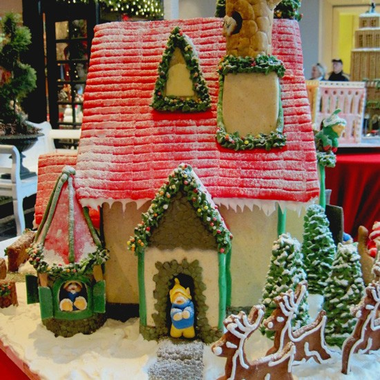 """Santa's Workshop,"" by Janie Moore - ROBIN WHEELER"