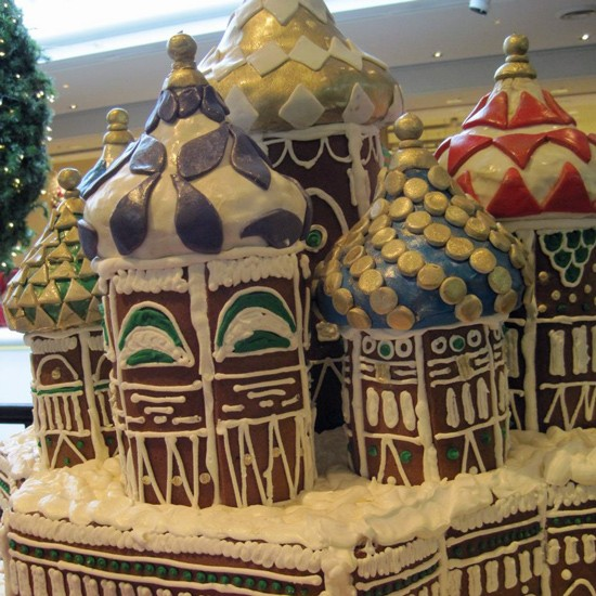 """Holiday in Russia,"" by Sally Sciaroni of Onesto Pizza and Trattoria - ROBIN WHEELER"