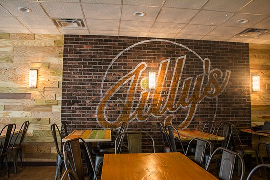 Jilly's event space and dining room.