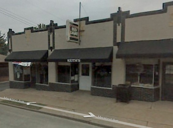 Stan's Bar when it was Keith's Tavern (Google maps photo, fall 2007.)
