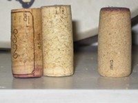 Composite corks, with new Diam on the right - DAVE NELSON