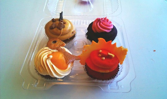 Prize-winning cupcakes from Jilly's - AMANDA WOYTUS