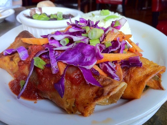 Not your ordinary enchiladas - BRYAN PETERS
