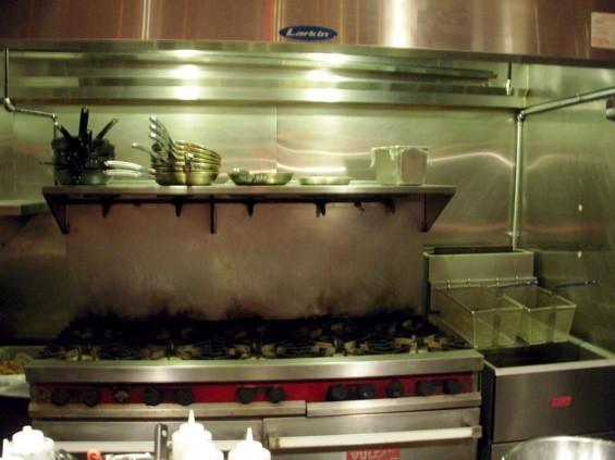 The kitchen at the new Taste. - AIMEE LEVITT