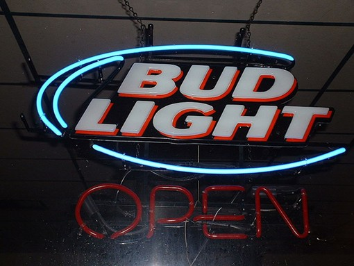 """Bud Light? Only in cans. Open to the public? Who knows. - USER """"RENJISHINO,"""" WIKIMEDIA COMMONS"""