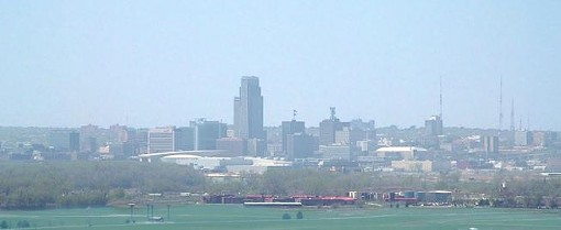 "The Omaha skyline - USER ""MAWHAMBA,"" WIKIMEDIA COMMONS"