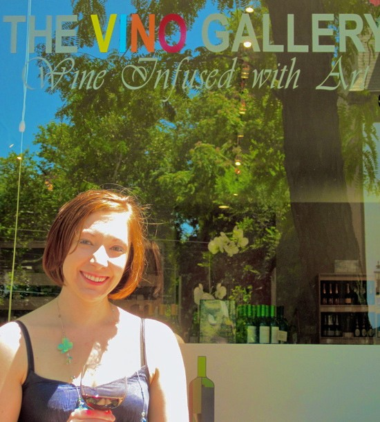 Rachael Buehrer, co-owner of the Vino Gallery in the Central West End, specializes in wines from small producers. - DAVE NELSON