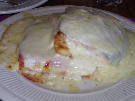 Le Croque Monsieur! - ASHLEY ATKINS