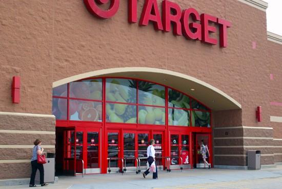 "Target's Kirkwood location subtly suggests a ""fresh"" image. - KATIE MOULTON"