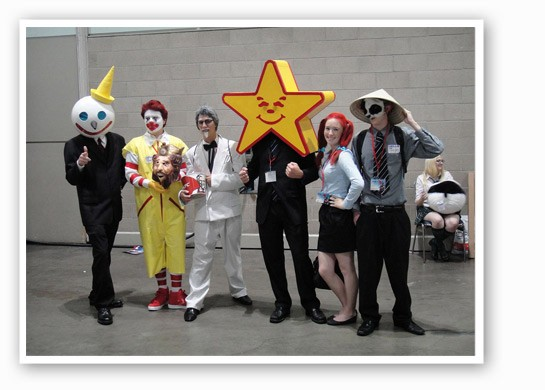 We're guessing these guys won't be there.   Pop Culture Geek