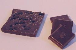 Askinosie's dark milk chocolate and black licorice bar. - RFT PHOTO