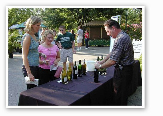 Wine tastings galore at Jammin' at the Zoo. | St. Louis Zoo