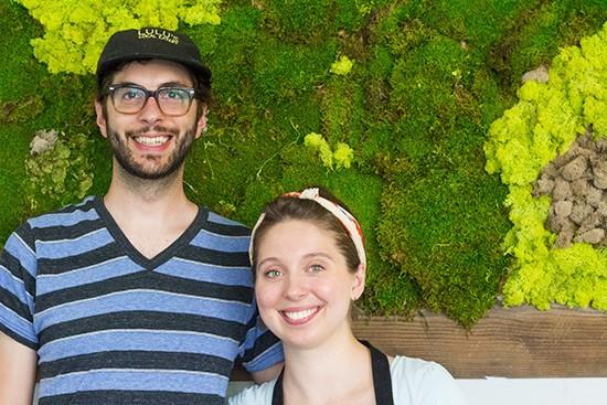 Co-owners Robert Tucker and Lauren Loomis.