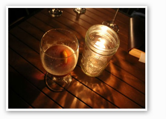 Whiskey by candlelight. | Pat Kohm