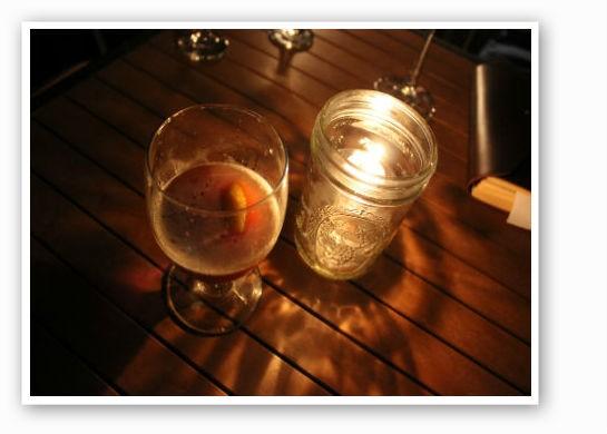 Whiskey by candlelight. | Pat Kohm