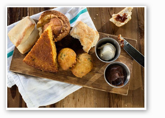 The biscuit at Juniper is pure Southern goodness. | Jennifer Silverberg