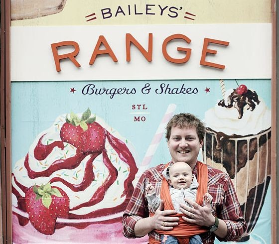 BAILEY'S RANGE OWNER DAVID BAILEY AND HIS DAUGHTER.   JENNIFER SILVERBERG