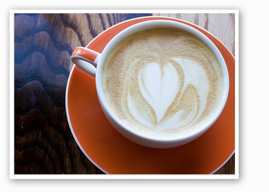 Rise's latte ($4). | Mabel Suen