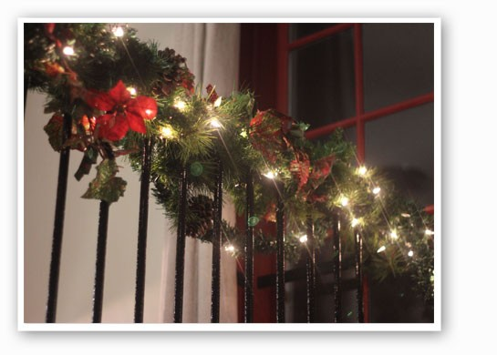 Christmas touches. | Nancy Stiles