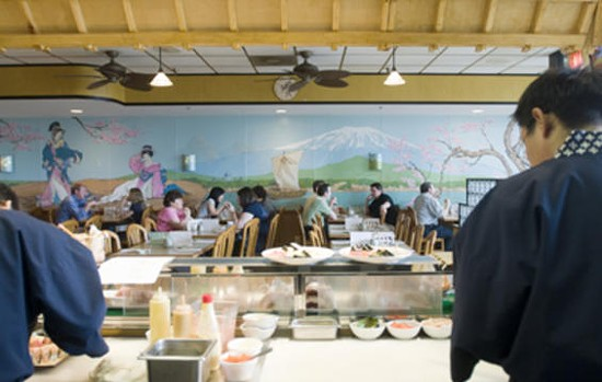 Inside Momoyama, which may or may not be closed. - JENNIFER SILVERBERG