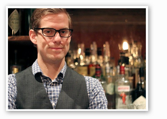 Taste Bar's Kyle Mathis is an expert, after all. | Nancy Stiles