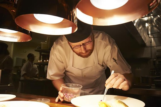 Chef Ben Welch of the Precnict | KFB Photography