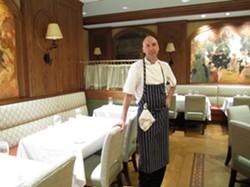 John Griffiths, new campus executive chef at Washington University - AMANDA WOYTUS