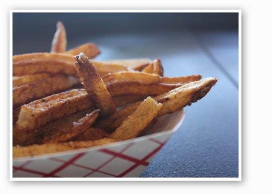 Fries at The Kitchen Sink.   Nancy Stiles
