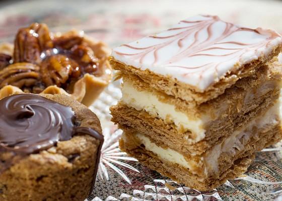 Assorted mini desserts. | Jennifer Silverberg