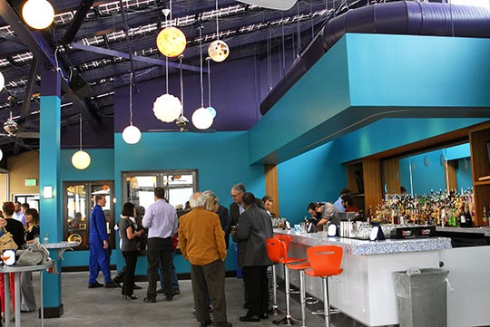 A view of the bar and the surrounding space   Kaitlin Steinberg