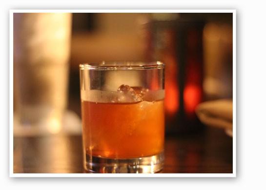The Gamlin Manhattan, made with Basil Hayden whiskey. | Nancy Stiles