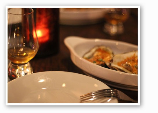 Whiskey and oysters? Yes, you can. | Nancy Stiles