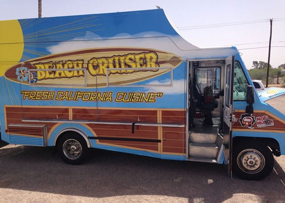 The truck's last stop was Oklahoma City. | Beach Cruiser