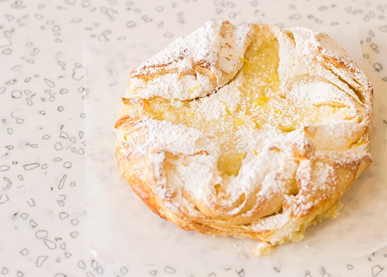 Each comes with a requisite dusting of powdered sugar.