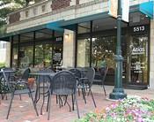 The Atlas patio on Pershing Street.