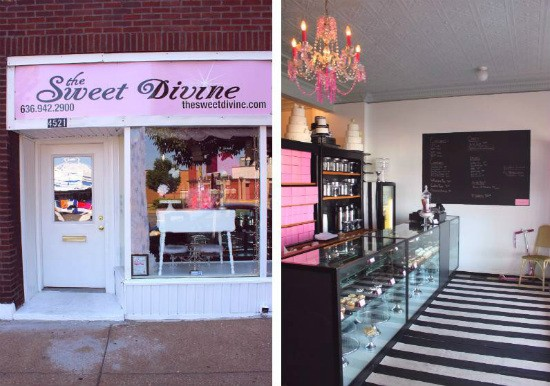 The charming, retro-meets-Bohemian exterior and interior of the Sweet Divine. - LIZ MILLER