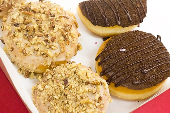 Additional doughnut options can include maple pecan and maple flavors.