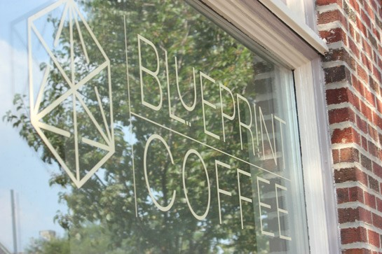 Blueprint Coffee on Delmar Boulevard.   Nancy Stiles