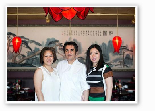 Linh Tu, Nelson Padilla and Dee Dee Tran at Mi Linh. | Jennifer Silverberg