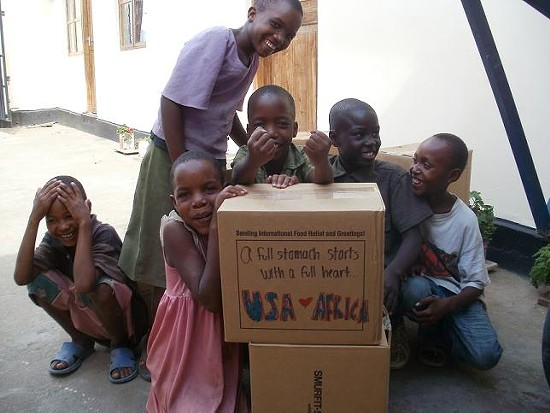 Children in Tanzania benefit from World Food Day efforts. - PHOTO COURTESY DANFORTH PLANT SCIENCE CENTER