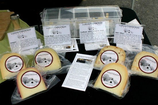 Raw milk cheese won't make you sick...unless you're a pregnant woman or small child. Then it might. - IMAGE VIA