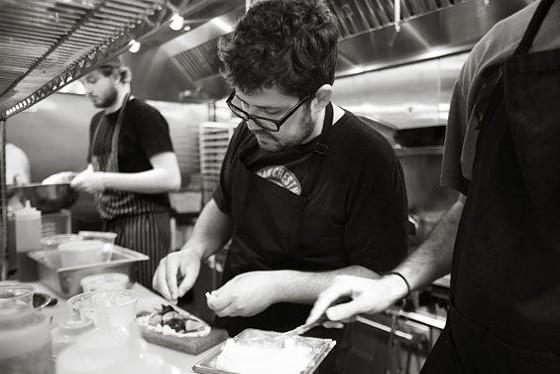 Urban Chestnut's chef Andy Fair   Jennifer Silverberg