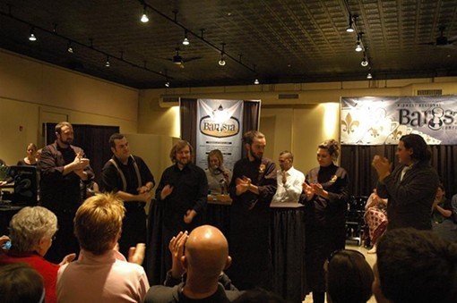 The six finalists in this year's Midwest Regional Barista Competition - PHOTO COURTESY KALDI'S COFFEE