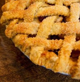 Is there anything quite so beautiful and delicious as pie? - MABEL SUEN