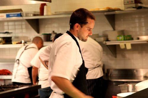 Chef Chris Bork of Blood and Sand - BETH FARROW CLAUSS