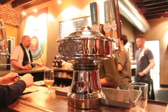 Inside Urban Chestnut Brewing Company, part of the St. Louis craft-beer boom